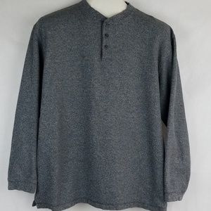 High Sierra sweater Gray 100% cotton size Large